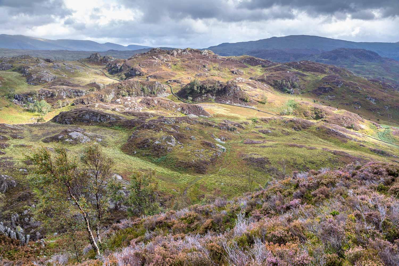 Grange Fell, Brund Fell