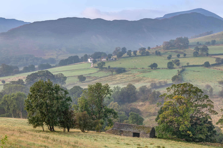 Dawn, Newlands Valley, High Snab Farm, Hindscarth