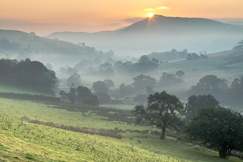 Dawn, Newlands Valley, Catbells
