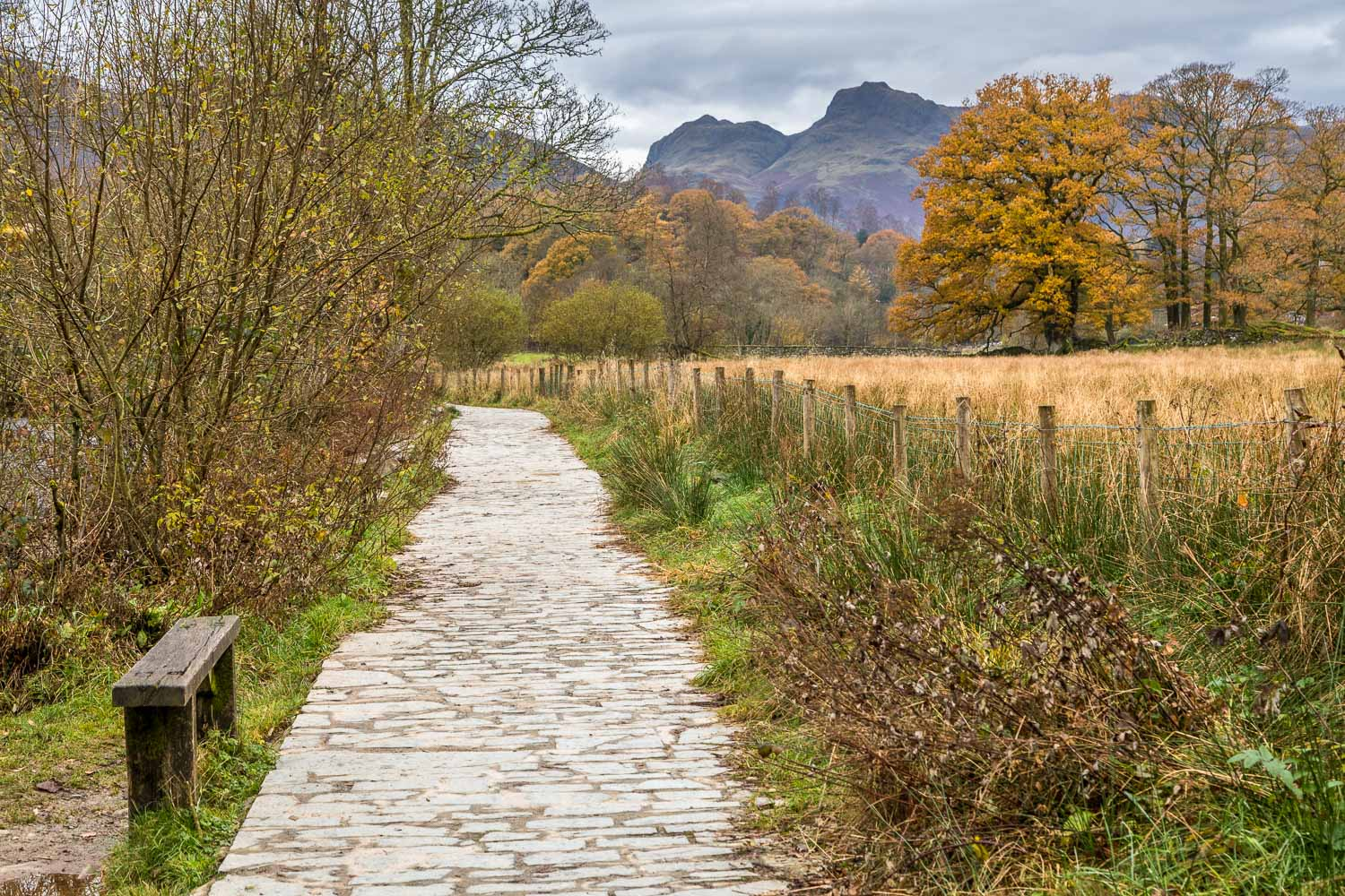 Cumbria Way, Langdale Pikes