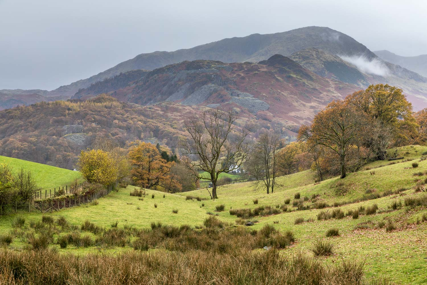 Little Langdale walk, Wetherlam