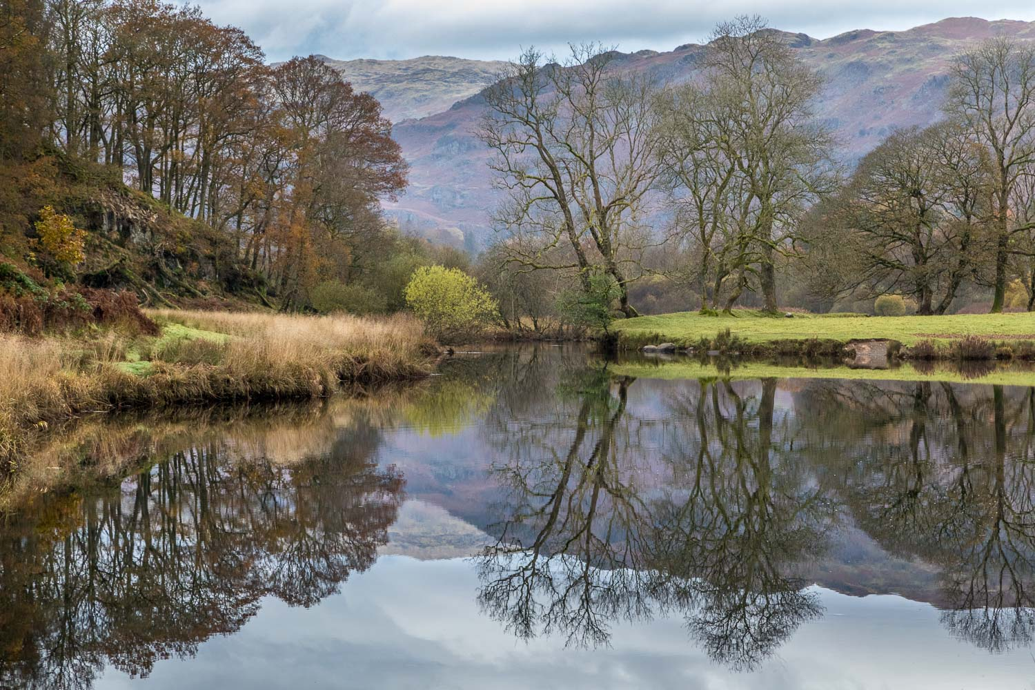Langdale walk, Elter Water