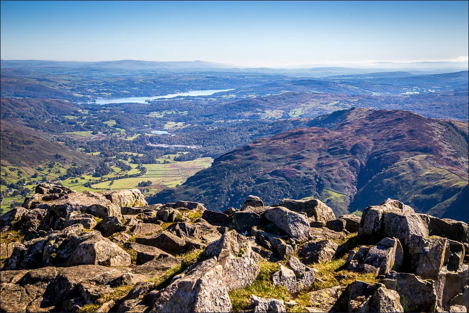 Windermere and Lingmoor Fell from Harrison Stickle