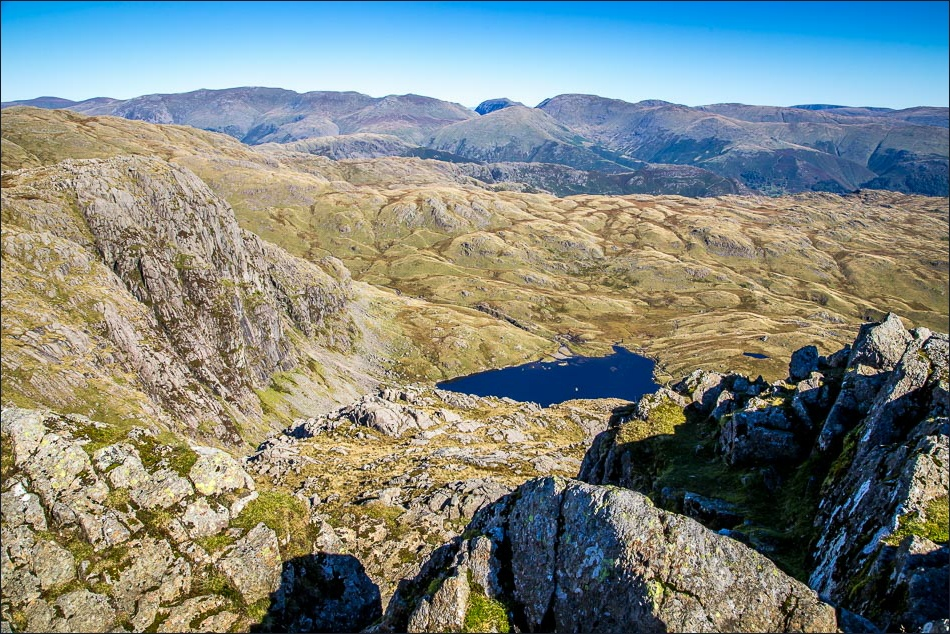 Langdale Pikes, Stickle Tarn