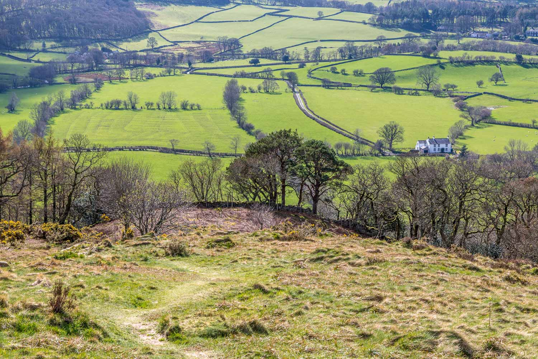 Lanthwaite Hill view