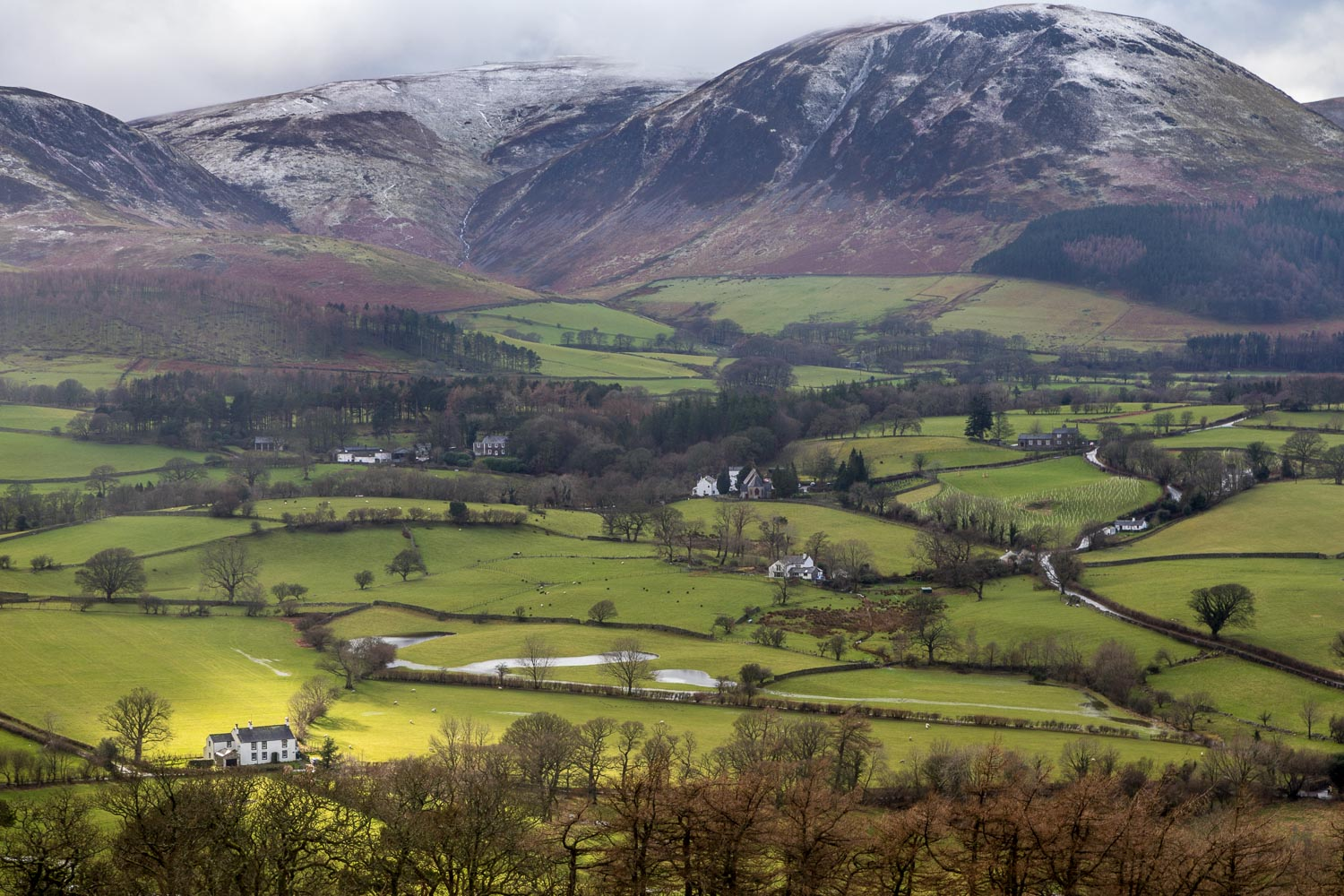 Lanthwaite Hill view, Loweswater