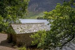 Crummock Water boathouse