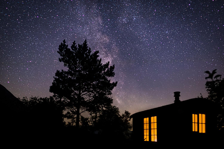 Night sky, milky way