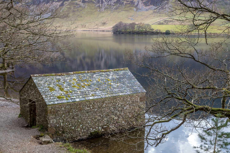 Crummock Water, boathouse