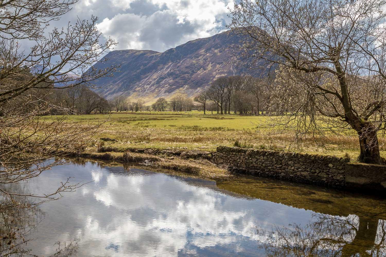 Lanthwaite Wood, River Cocker, Mellbreak