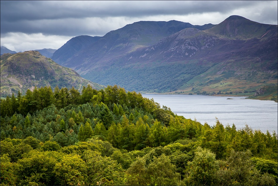 Crummock Water, Rannerdale Knotts and the High Stile Range