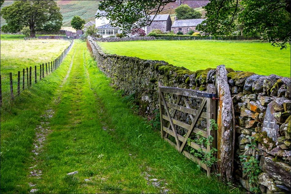 Path to Lanthwaite Green