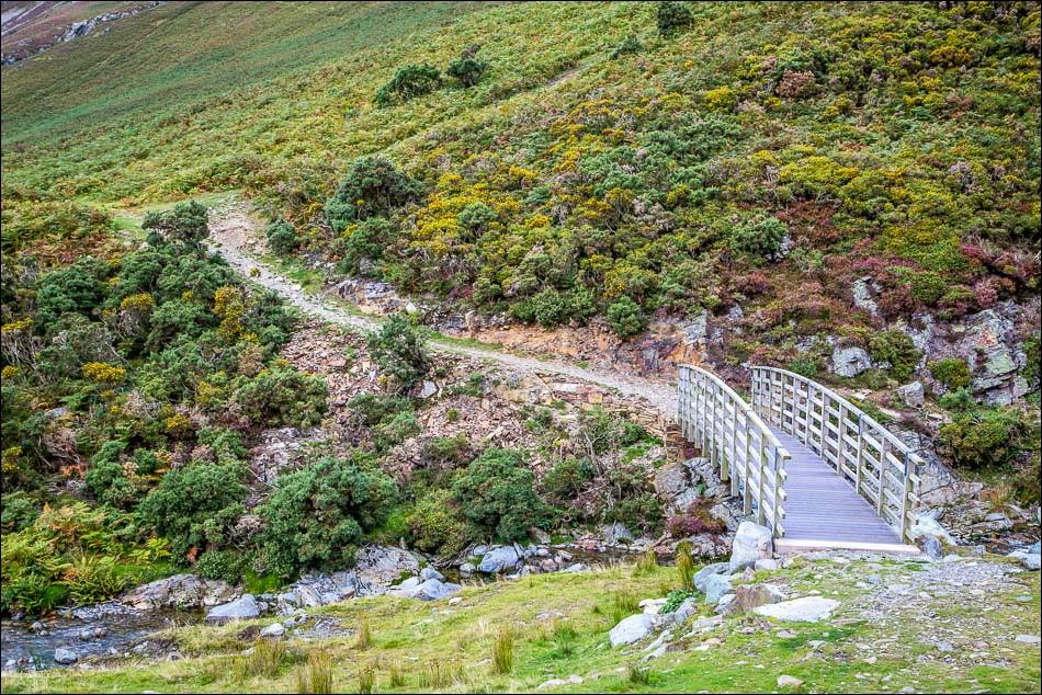 footbridge over Liza Beck