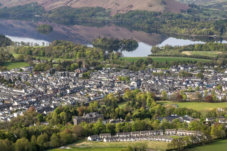 Latrigg view, Keswick, Derwent Water