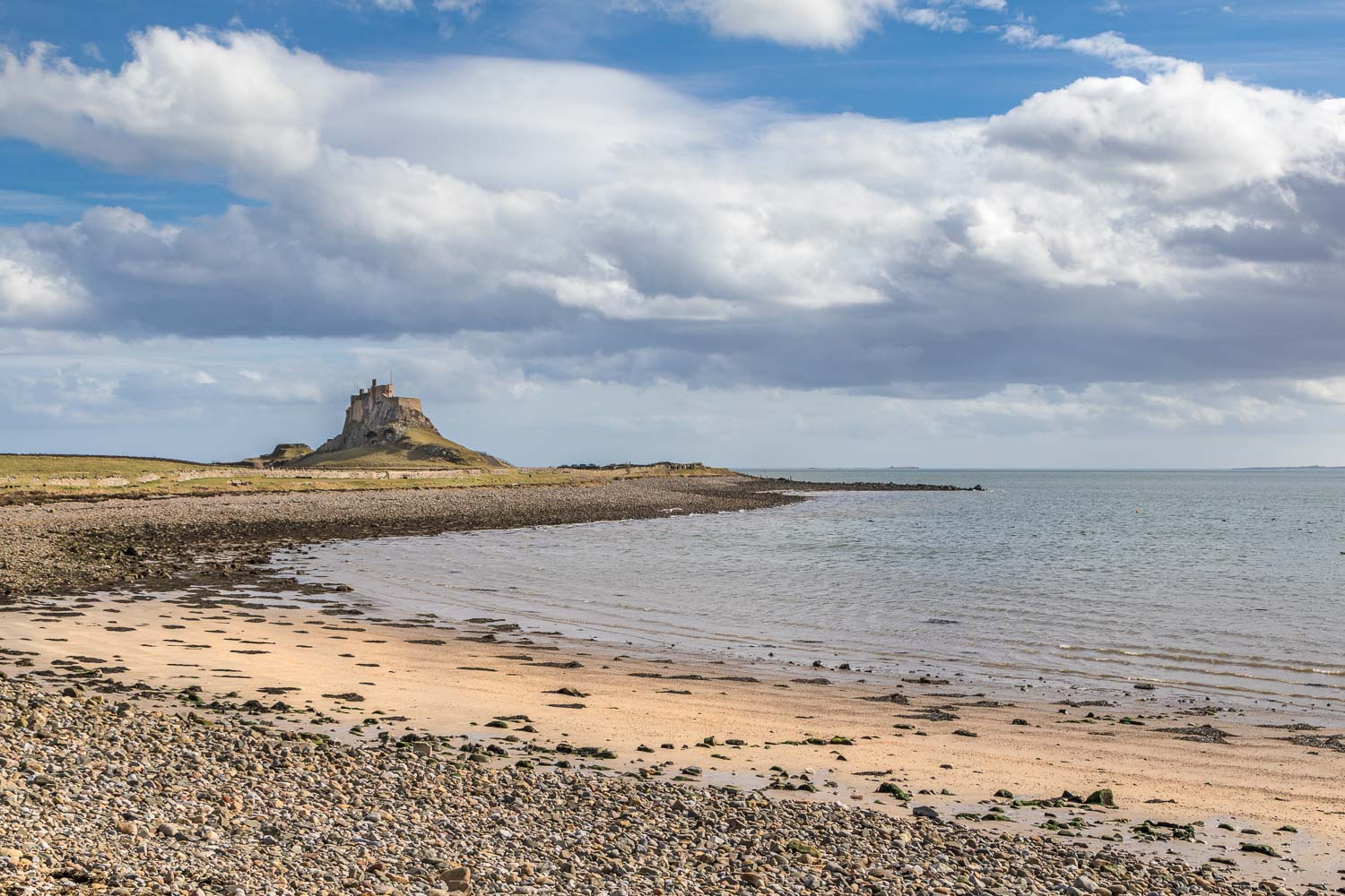 The Ouse, Lindisfarne Castle