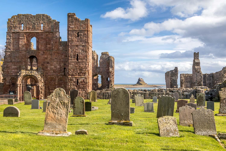 Lindisfarne Priory, Lindisfarne Castle