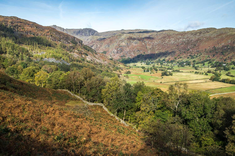 Lingmoor Fell walk, Great Langdale