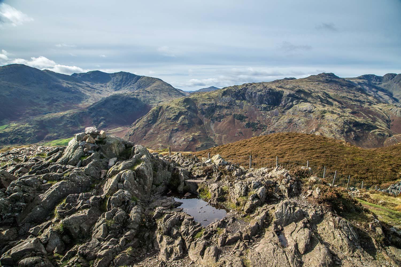Summit of Lingmoor Fell