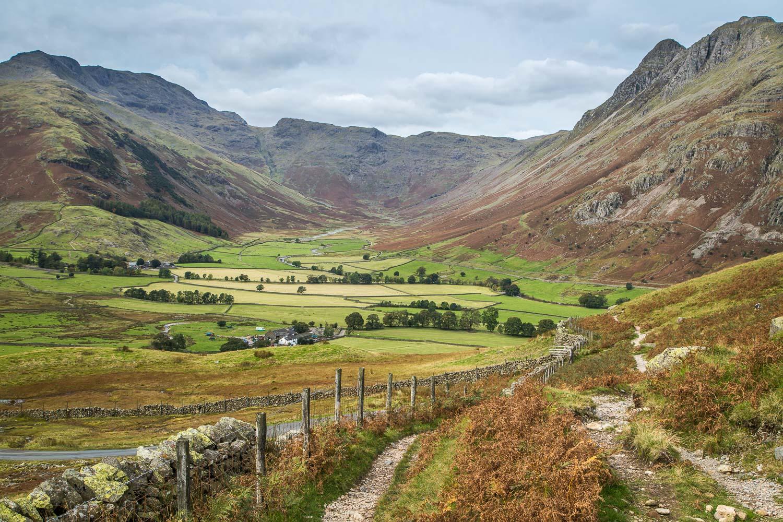 Lingmoor Fell walk, Mickleden