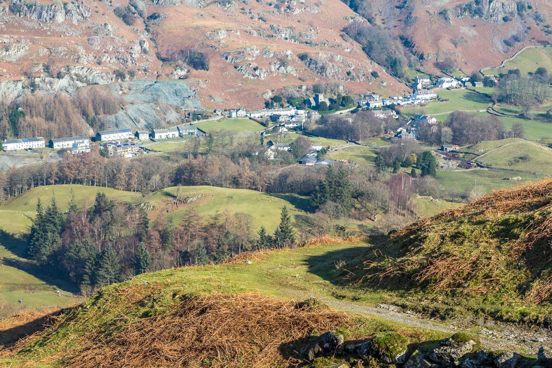Lingmoor Fell walk, Chapel Stile