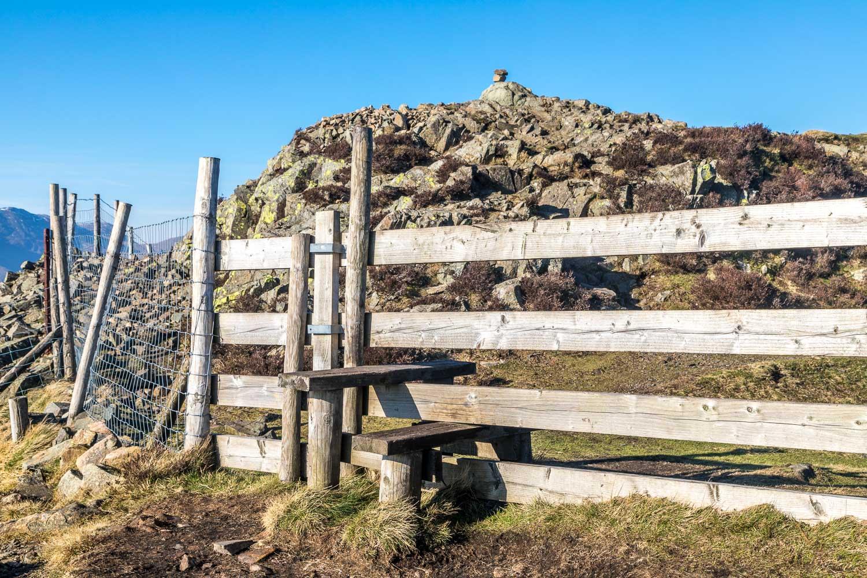 Lingmoor Fell summit