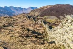 Lingmoor Fell dry stone wall
