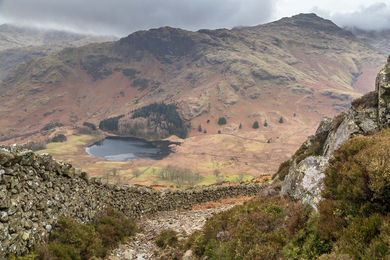 Blea Tarn, Pike o'Blisco