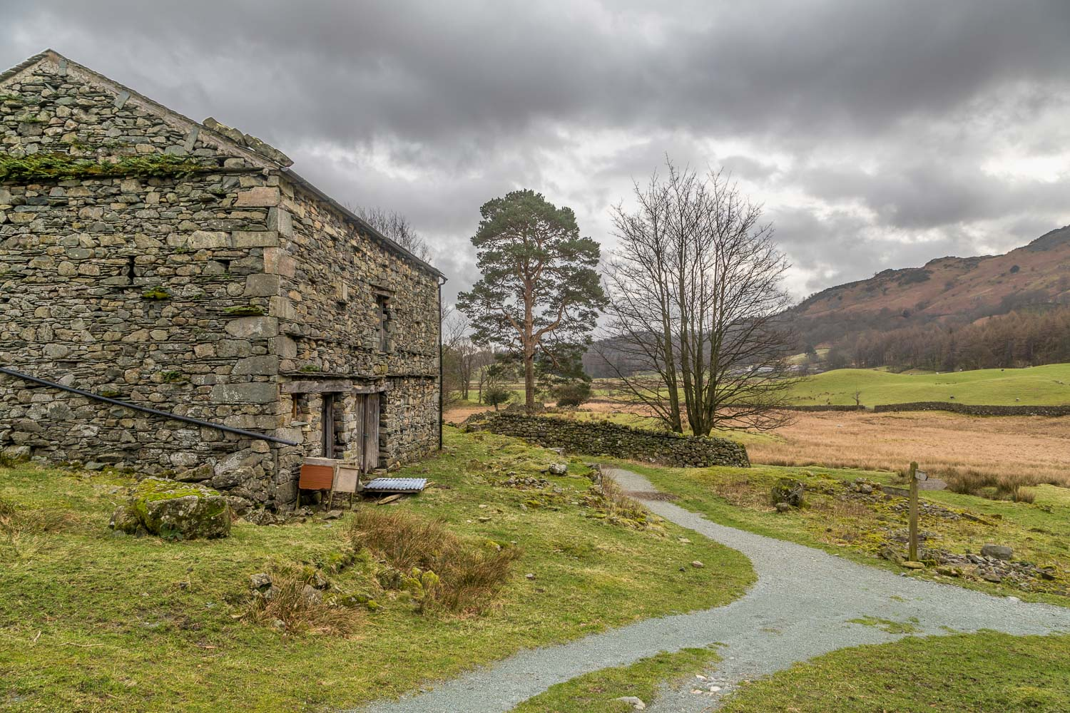 Oak Howe, Great Langdale, barn