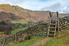 Great Langdale, ladder stile