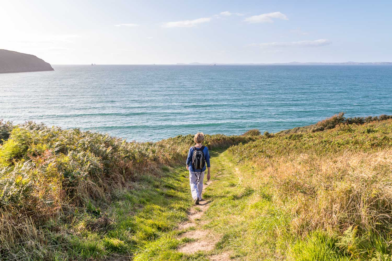 Little Haven walk, Pembrokeshire Coast Path