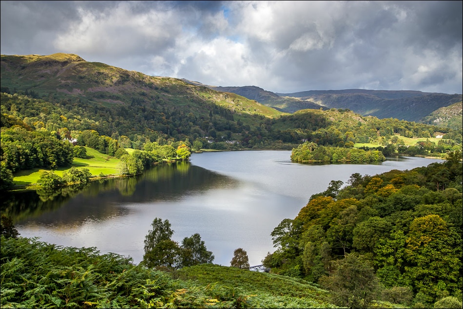 Loughrigg Terrace, Grasmere view