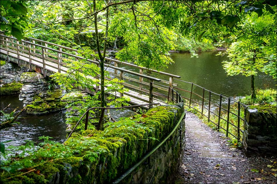 footbridge over the River Rothay