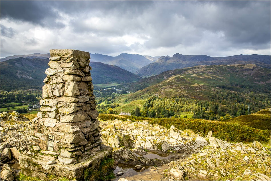 Langdale from Loughrigg Fell