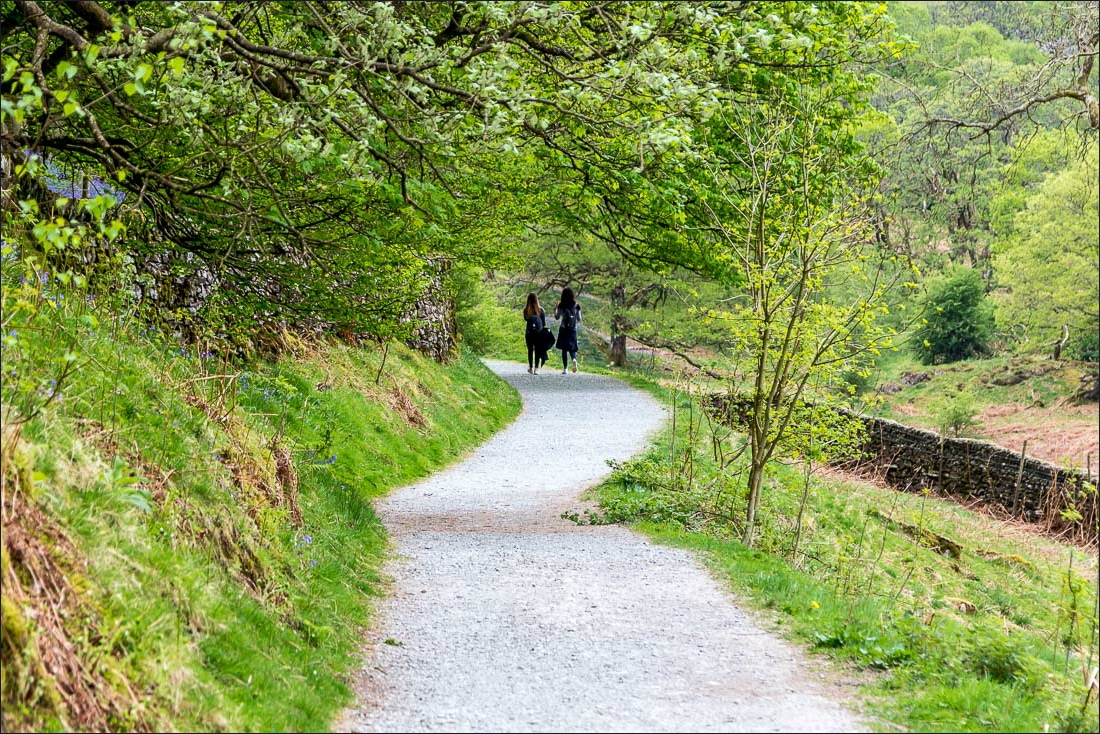 path above Rydal Water