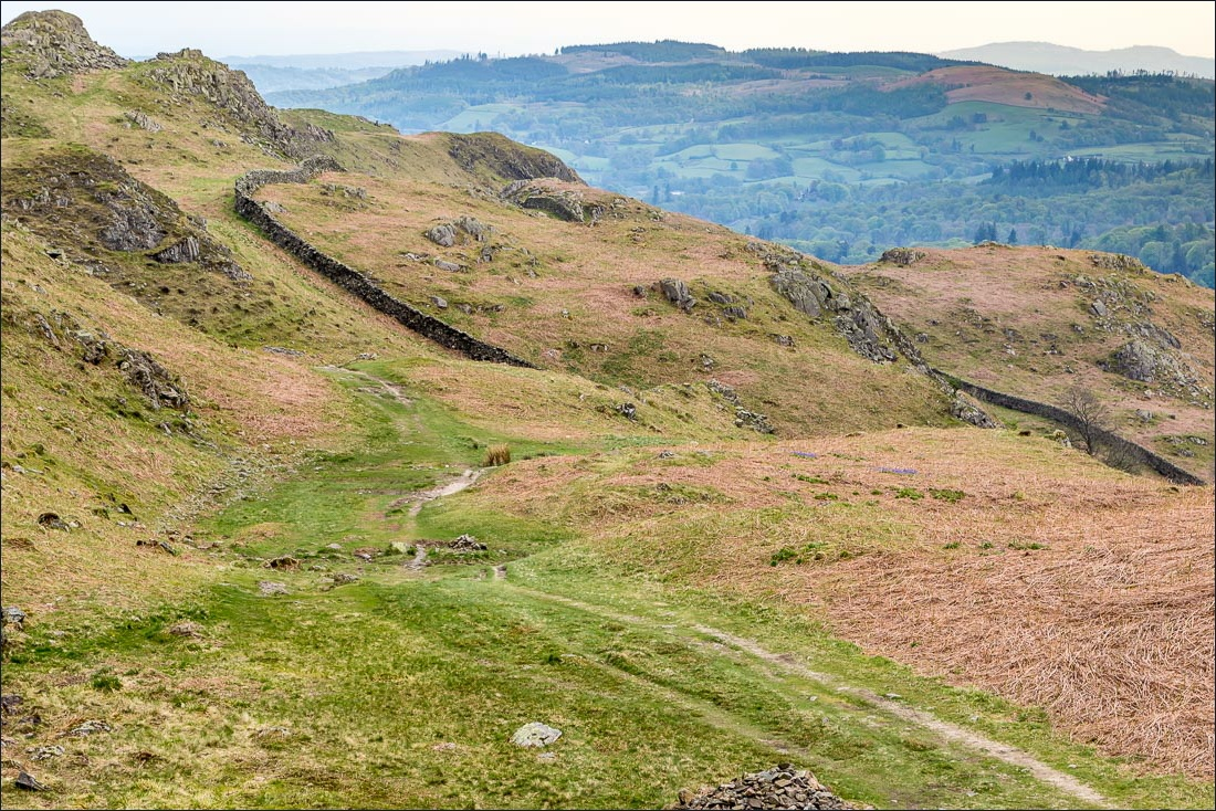 Summit of Loughrigg Fell