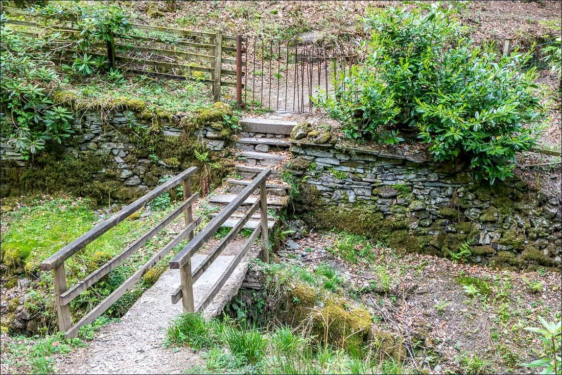 Footbridge near Fox Ghyll
