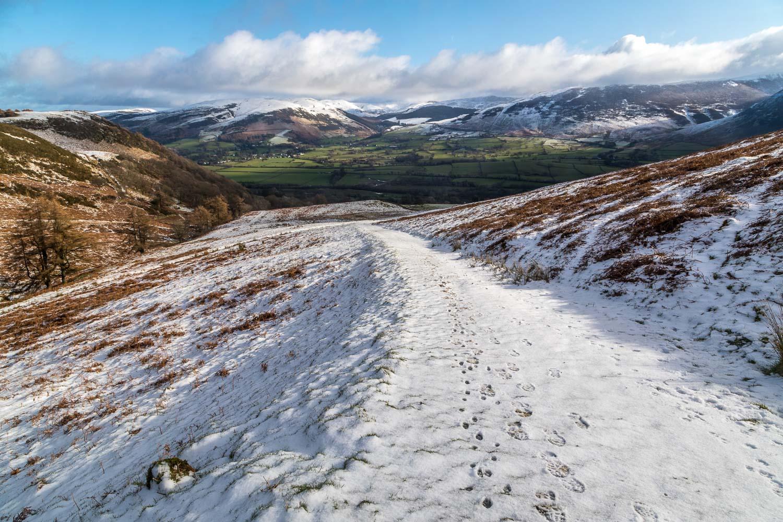 Low Fell walk, Lorton