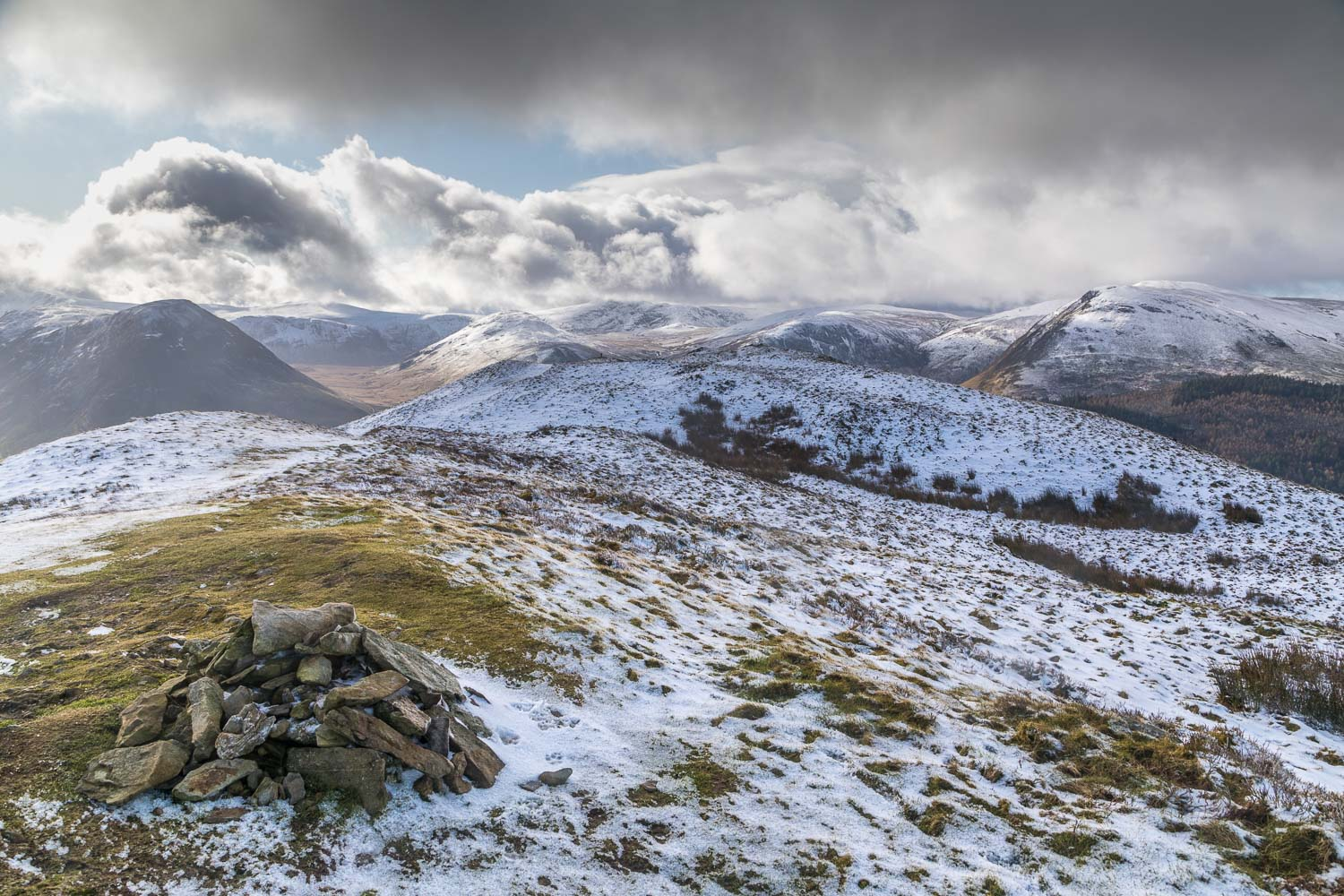 Low Fell north top