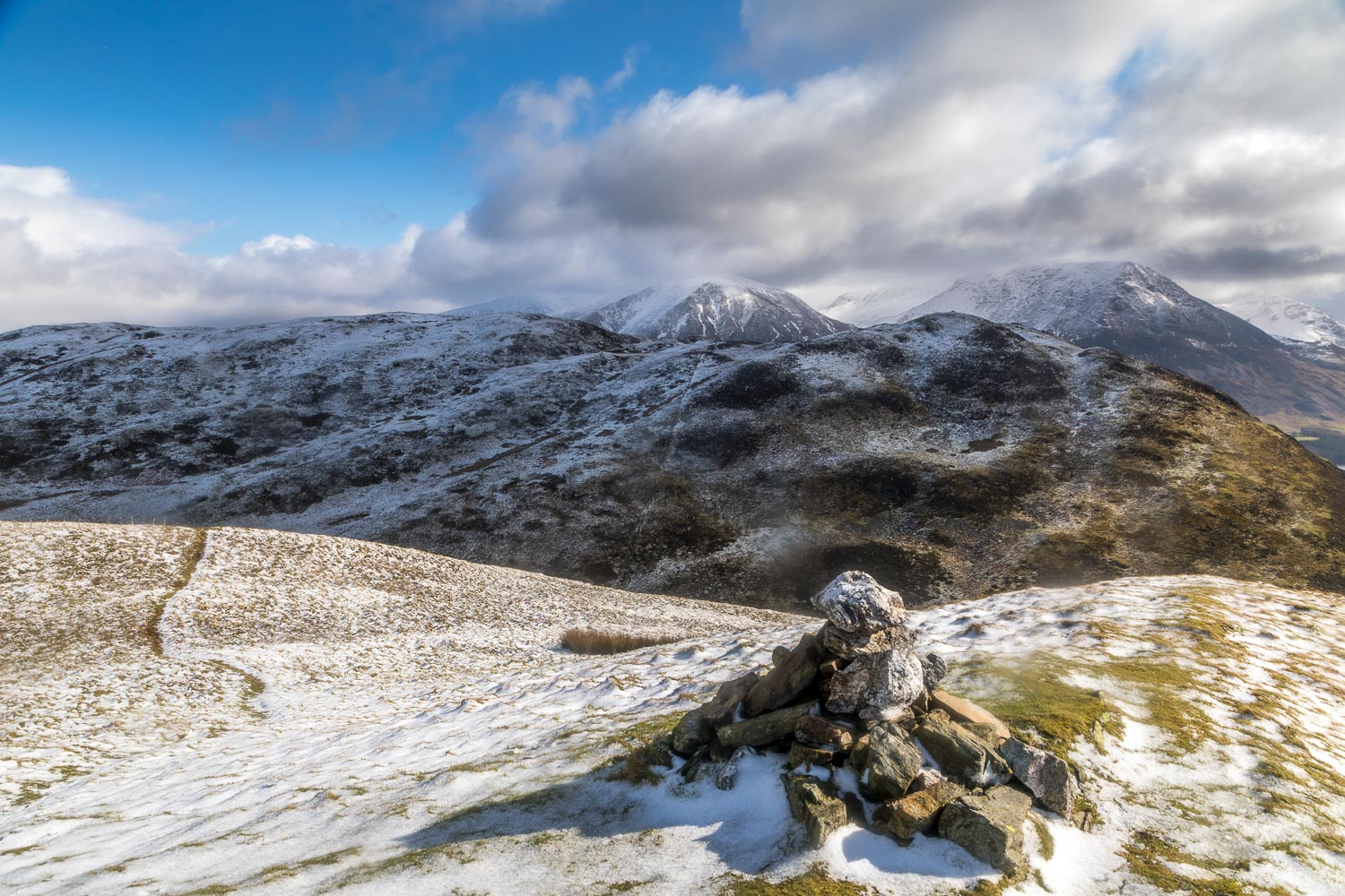 Low Fell from Darling Fell