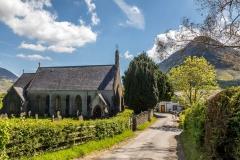 St Bartholomew's Church Loweswater, and the Kirkstile Inn