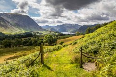 Low Fell walk, Crummock Water