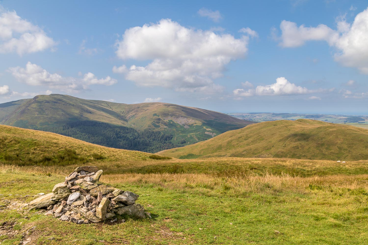 Low Fell walk, Low Fell north top