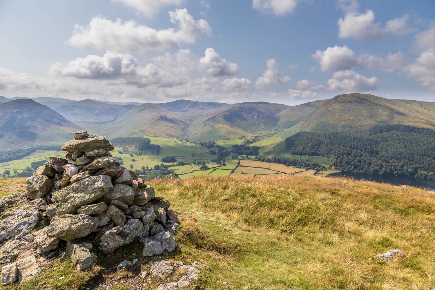 Low Fell walk, Low Fell south top, Loweswater Fells