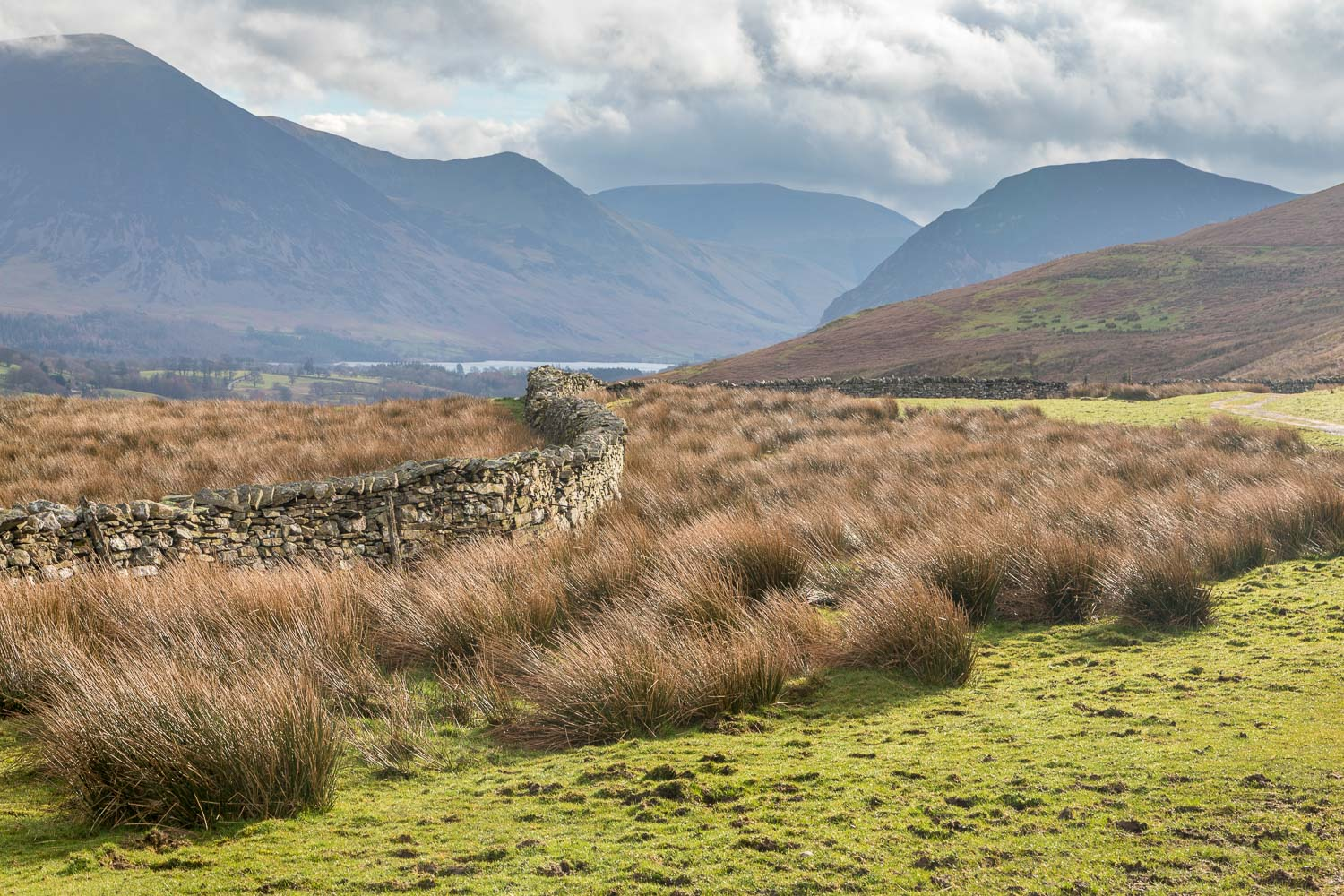 Loweswater walk, old coffin road