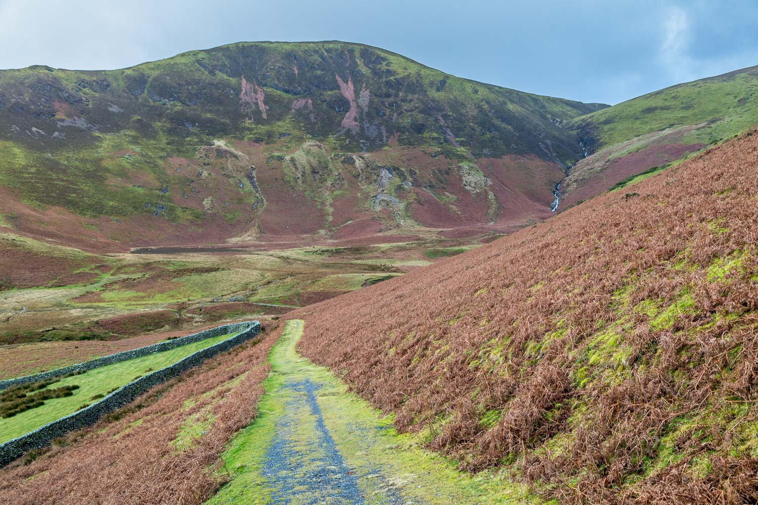 Loweswater walk, old coffin road, Black Crag