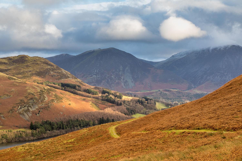 Low Fell, Whiteside, Grasmoor