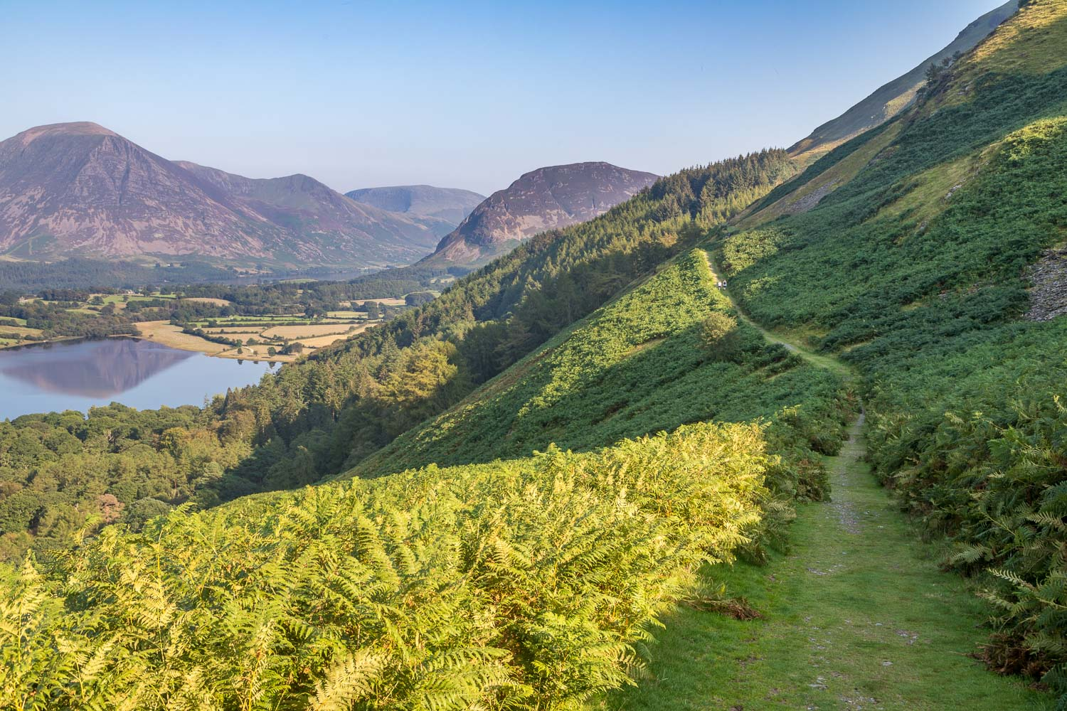 Loweswater walk, Crummock Water, St Bees coffin road