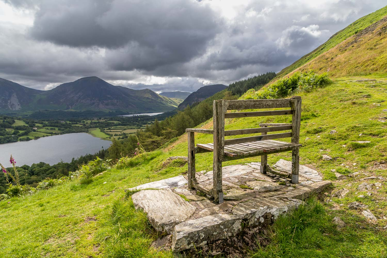 bench. Loweswater
