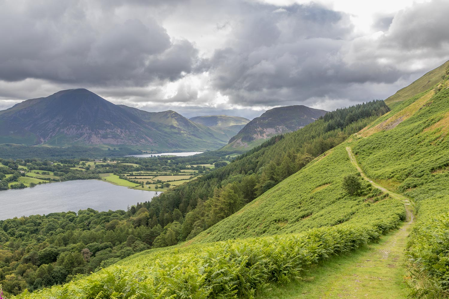 Loweswater coffin road