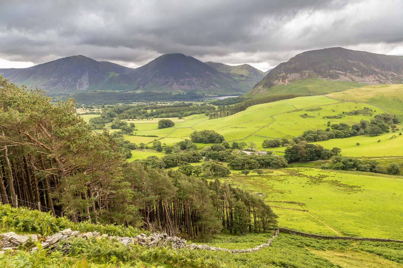 Whiteside, Grasmoor, Mellbreak